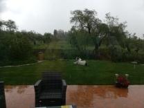 more rain...